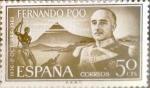 Sellos de Europa - España -  Intercambio cr2f 0,25 usd 50 cents. 1961