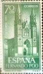 Stamps Spain -  Intercambio 0,30 usd 70 cents. 1961
