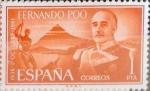 Stamps Spain -  Intercambio 0,35 usd 1 pta. 1961