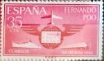 Sellos de Europa - España -  Intercambio 0,25 usd 35 cents. 1962