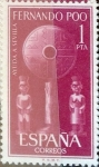 sellos de Europa - España -  Intercambio 0,25 usd 1 pta. 1961