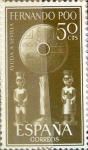 Stamps Spain -  Intercambio 0,25 usd 50 cents. 1961