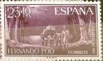 Sellos de Europa - España -  Intercambio 0,30 usd 25 + 10 cents. 1961