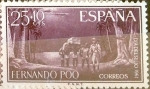 Stamps Spain -  Intercambio 0,30 usd 25 + 10 cents. 1961