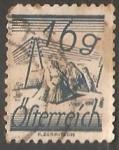 Stamps Austria -  Stooks & telegraph wires