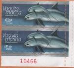 Stamps Mexico -  VAQUITA  MARINA