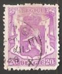 Stamps Belgium -  Small coat of arms - Escudo de armas