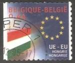 Stamps : Europe : Belgium :  Union Europea - Hungria