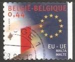 Sellos de Europa - Bélgica -  Union Europea - Malta