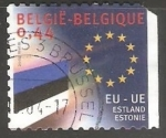 Stamps : Europe : Belgium :  Union Europea - Estonia
