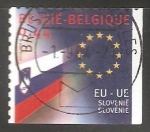 Stamps : Europe : Belgium :  Union Europea - Esvolovenia