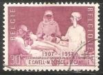 Sellos de Europa - Bélgica -  Escuela de enfermeras