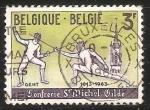 Sellos de Europa - Bélgica -  Esgrima -Royal Guild and Knights of St Michael