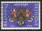 Sellos de Europa - Bélgica -  1000 year City of Oostende - protección de las costas de la ciudad de Ostende