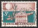Sellos de Europa - Bélgica -  I.P.U.- 50e conference