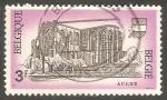 Stamps Belgium -  Abbey of Aulne - Abadía de Aulne