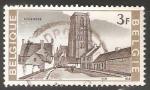 Sellos de Europa - Bélgica -  Church Lissewege - Iglesia de Nuestra Señora de la Visitación de Lissewege