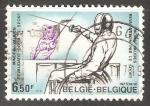 Stamps Belgium -  Esgrima