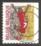 Stamps Belgium -  EC Football