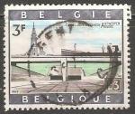 Sellos del Mundo : Europa : Bélgica : Túnel Kennedy