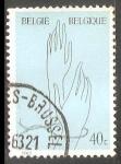 Sellos de Europa - Bélgica -  víctimas del Holocausto