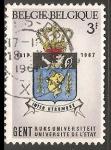 Sellos de Europa - Bélgica -  Universite de L etat