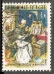 Stamps Belgium -  Biblioteca Real de Bélgica