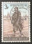 Sellos de Europa - Bélgica -  Dag Bag de postzegel - cartero