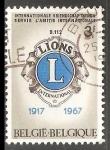 Stamps Belgium -  Lions