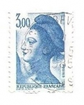 Stamps : Europe : France :  Mujer