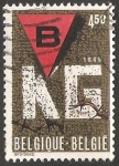 Sellos de America - Bélgica -  Liberation