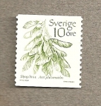 Stamps Europe - Sweden -  Acer platanoides