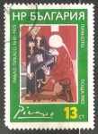 Stamps Bulgaria -  P.Picasso.