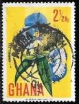 Sellos del Mundo : Africa : Ghana : Ghana-cambio