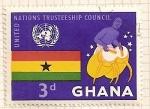 Sellos del Mundo : Africa : Ghana : Naciones Unidas