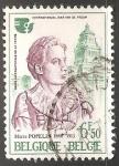Stamps Belgium -  Año Intenacional de la mujer - Charles Plisnier