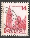 Stamps Canada -  Houses of Parliament