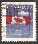 Sellos de America - Canadá -  Canadian Flag - Bandera de Canada