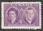 Stamps Canada -  Reyes De Inglaterra