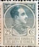 Sellos de Europa - España -  Intercambio 1,50 usd 25 cents. 1919