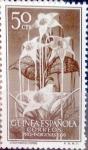 Sellos de Europa - España -  Intercambio 0,30 usd 50 cents. 1956