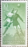 Sellos de Europa - España -  Intercambio fd2a 1,60 usd 10 ptas. 1955