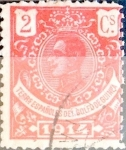 Sellos de Europa - España -  Intercambio 0,20 usd 2 cents. 1914