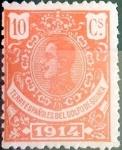 Sellos de Europa - España -  Intercambio fd2a 0,25 usd 10 cents. 1914
