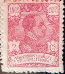 Stamps Spain -  Intercambio 0,55 usd 2 cent. 1922