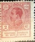Sellos de Europa - España -  Intercambio 0,25 usd 2 cents. 1920