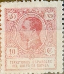Stamps Spain -  Intercambio 0,25 usd 10 cents. 1920