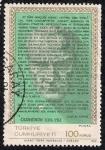 Stamps Asia - Turkey -  Ataturk y su discurso a los jóvenes