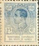 Sellos de Europa - España -  Intercambio 0,85 usd 25 cents. 1920