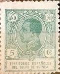 Sellos de Europa - España -  Intercambio 0,25 usd 5 cents. 1920